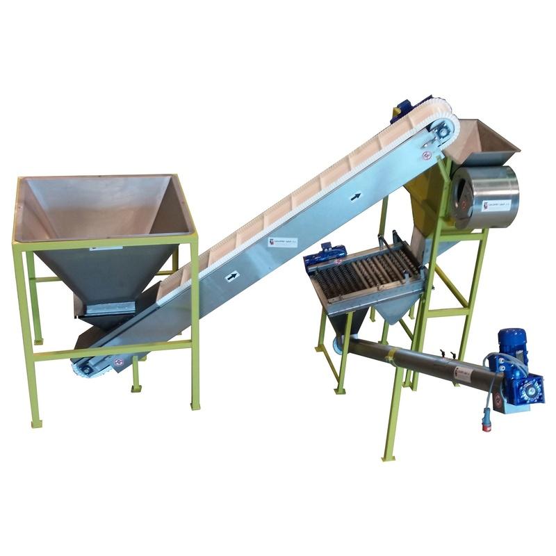 Almazaras - Equipo limpieza aceitunas  completo para producciones domesticas