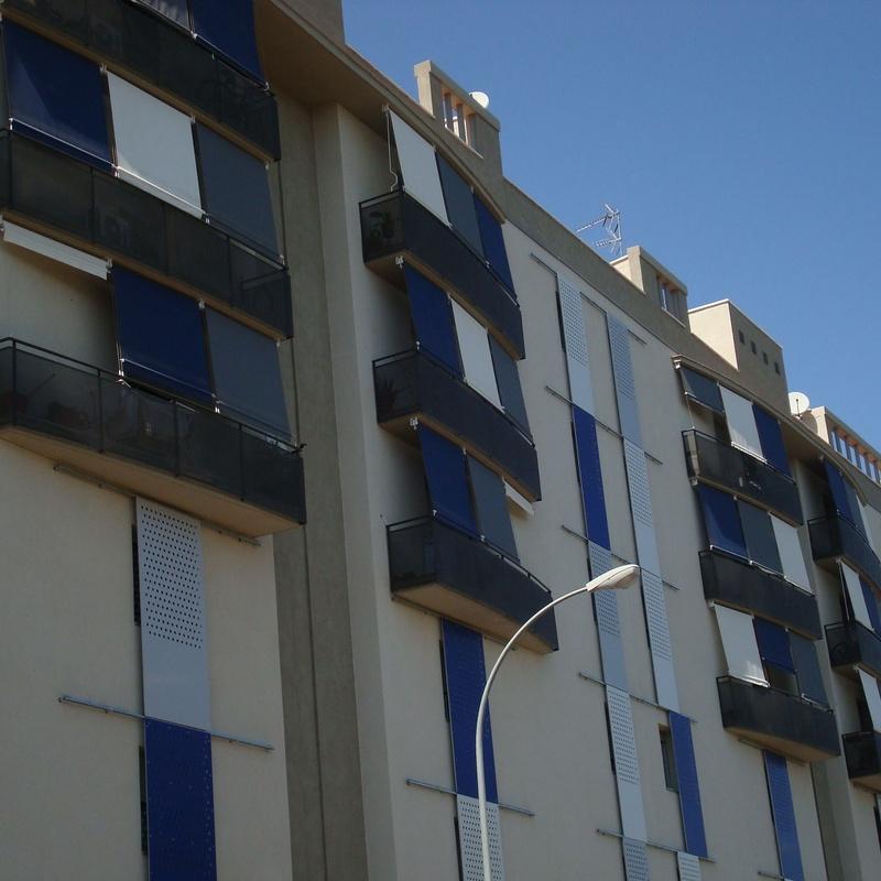 Toldos caída de vertical: Productos de Toldos Guadalgenil