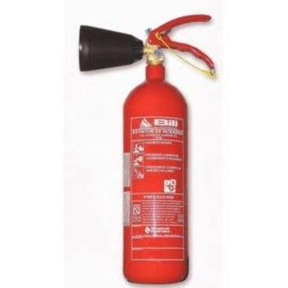 Extintores de CO2: Servicios de Benamir Instalaciones