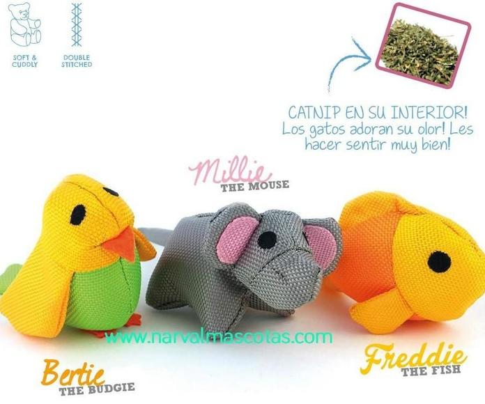 Muñecos Beco Things para gatos: Productos y Servicios de Narval Mascotas