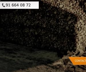 Leña y carbón en Madrid Oeste | El Almacén de Gil