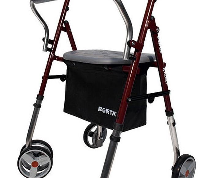Nueva gama de andadores de cuatro ruedas Forta