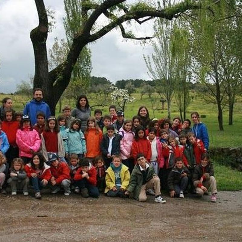 Club de Montaña: Servicios de Colegio Tres Olivos