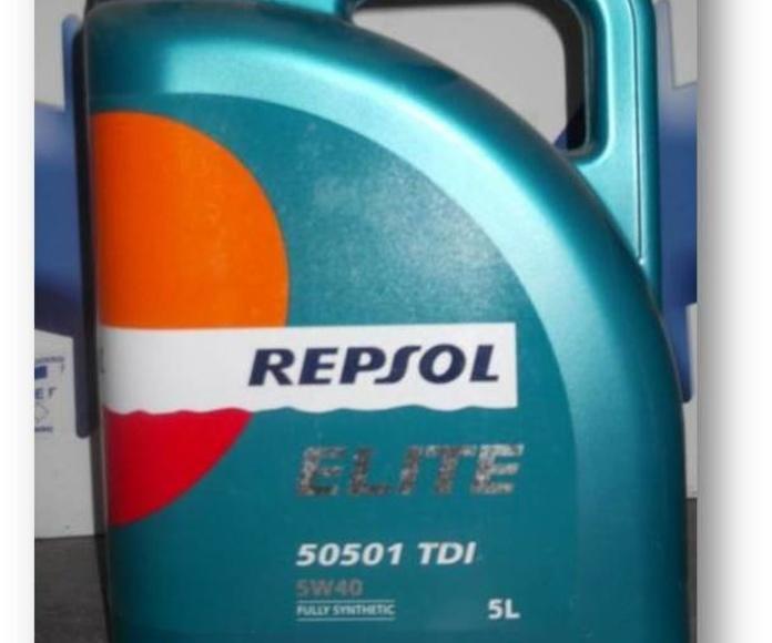 Aceite  Motor Repsol 5W40 5L: Catálogo de Autodesguaces De Blas