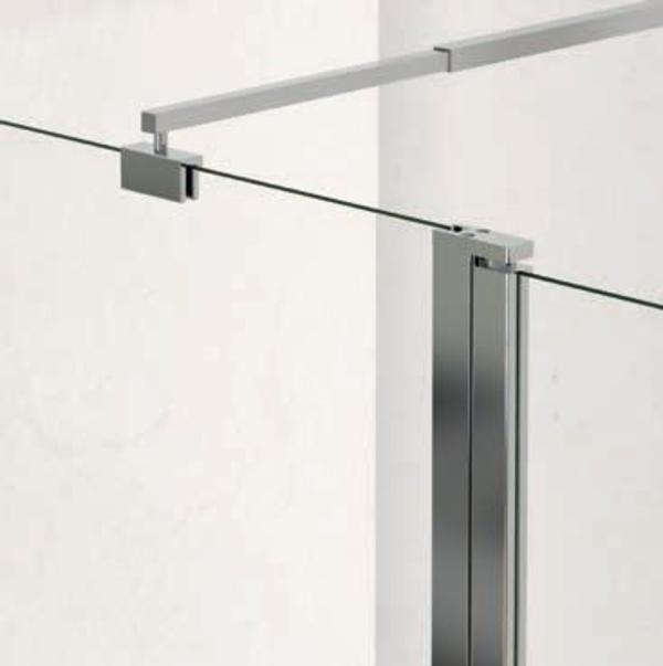 Brazo acero y perfil aluminio