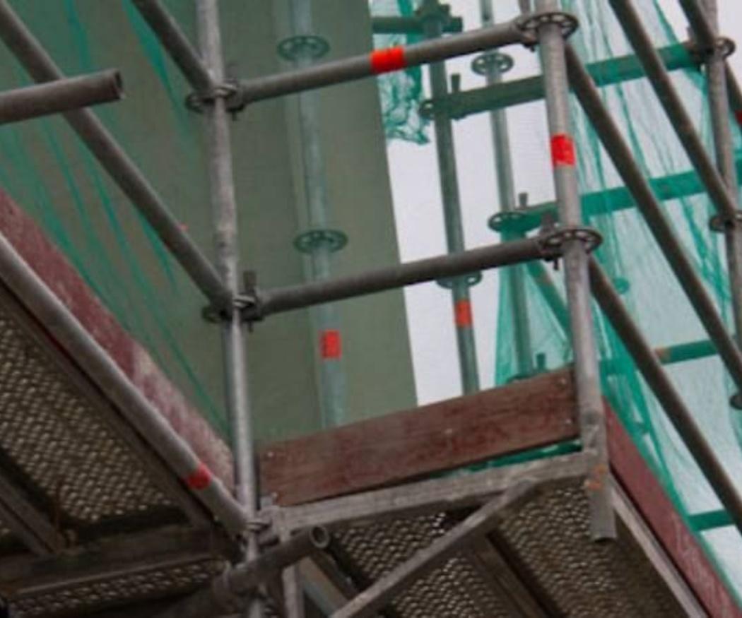 Recomendaciones de seguridad para la instalación de andamios