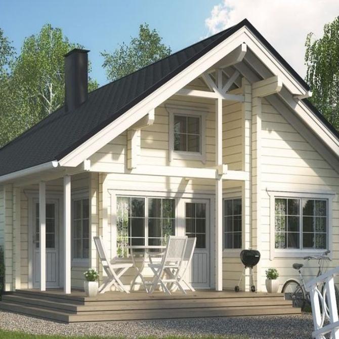 Las casas de madera y sus beneficios medioambientales