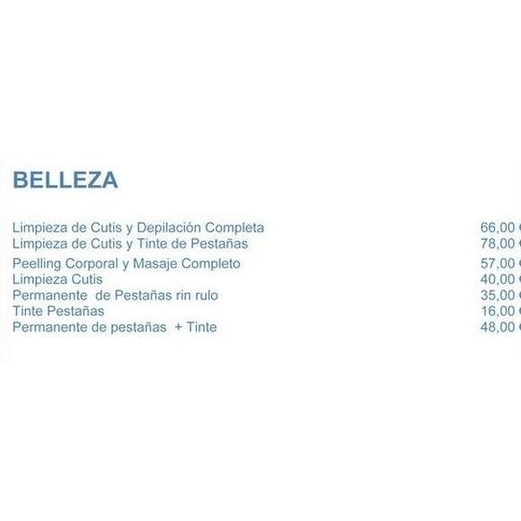 Tarifas belleza: Servicios de Assía Instituto de Belleza