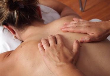 Masaje relajante (masoterapia)