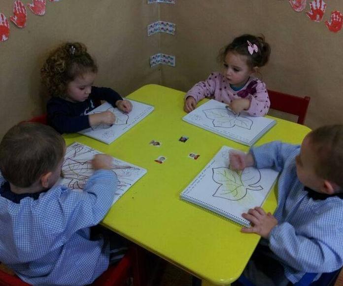 Horario y tarifas: Servicios de Escuela Infantil Pequeñajos