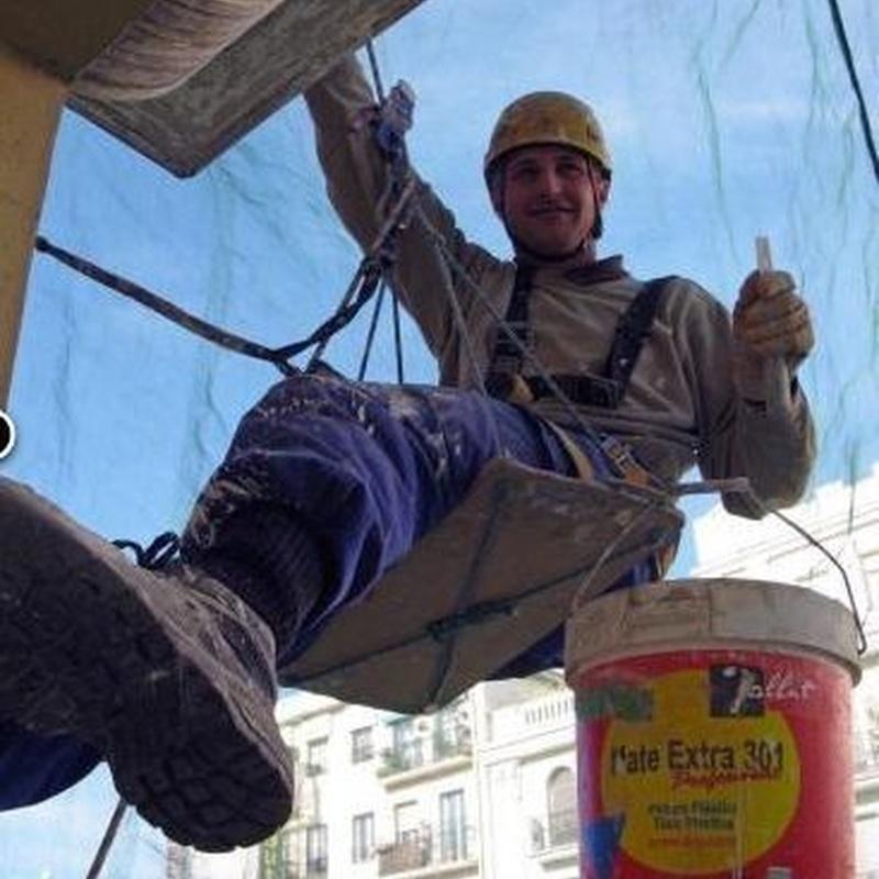 Rehabilitación de fachadas: Servicios de Pedro Vertical