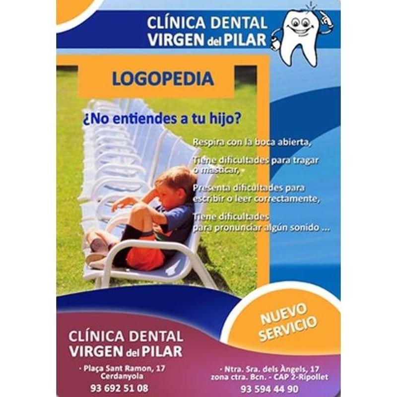 Logopedia: Tratamientos de Clínica Dental Virgen del Pilar