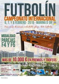 Gran Campeonato De Futbolin (06-07-08-feb.2015)