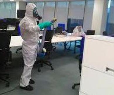 Limpieza y Desinfección de instalaciones frente al COVID-19