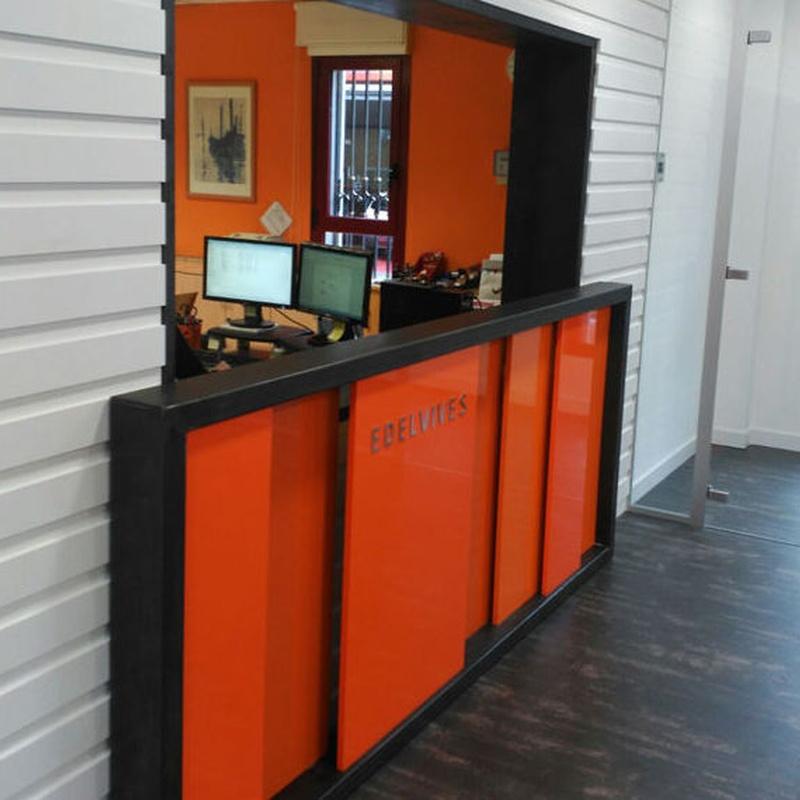 Frentes metálicos decorativos : Servicios y Productos de Cerrajería Avelino Izquierdo, S.L.