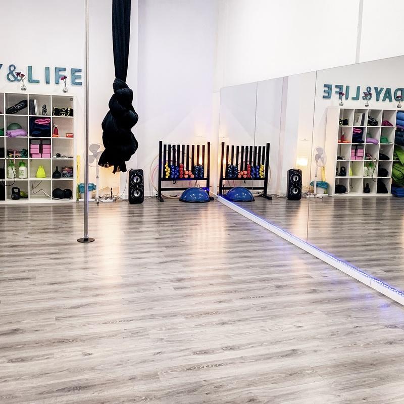 Pole dance y aéreos: Disciplinas de Day & Life