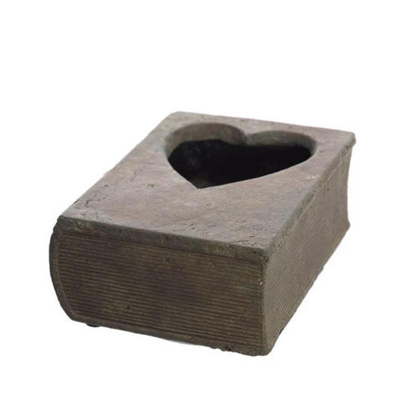 Libro de cemento (14,5x10,5 cm.) PRECIO: 2,50 €