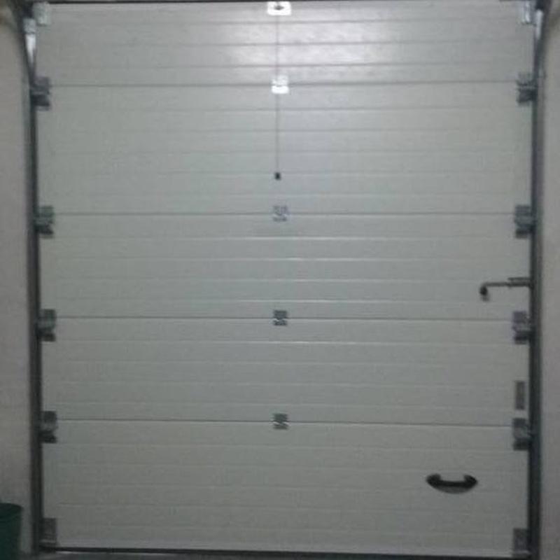 Puertas de Garaje en Riudoms, Tarragona