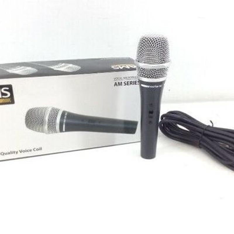 AMS 303 micrófono de mano: Nuestros servicios de Jukeval Eventos