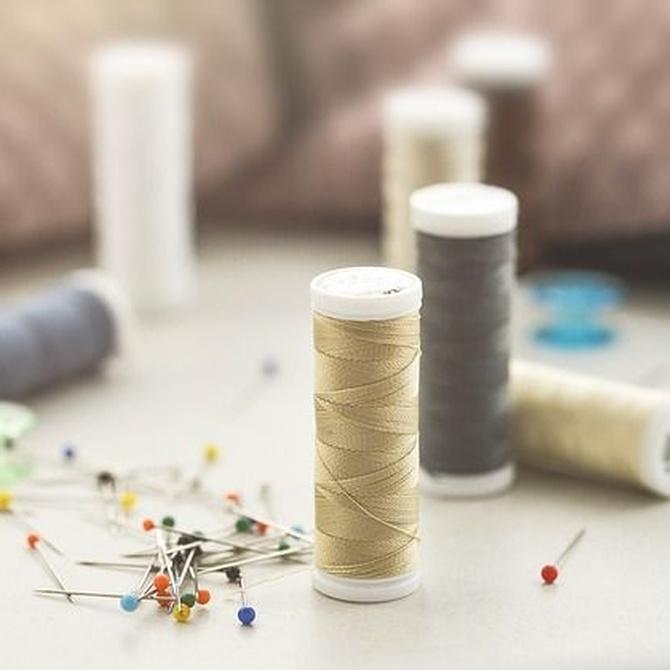Breve historia del hilo de coser