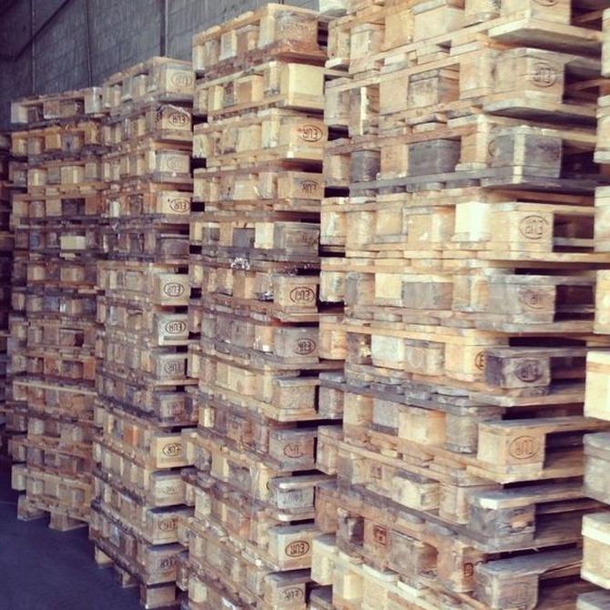 ¿Por qué se utilizan palets para el transporte de mercancías?