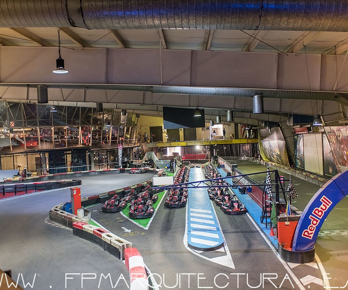 Work  In Progress Indoor Karting