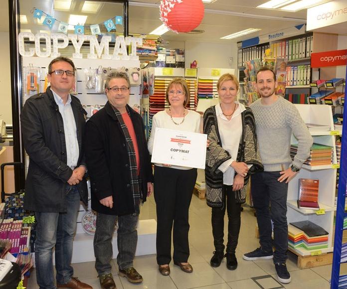 Copymat fue uno de los ¡ganadores del concurso de escaparates de navidad!