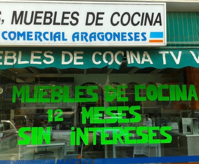 Electrodomésticos: Productos  de Comercial Aragoneses