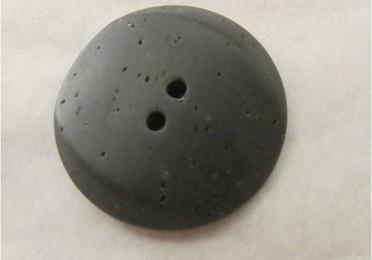 Botón gris grafito