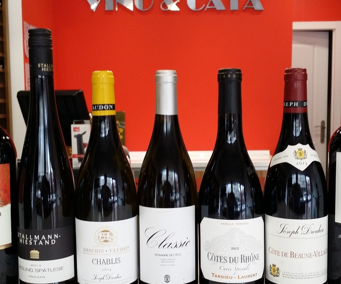 Vinos internacionales.: Bodegas por zonas de Vino & Cata