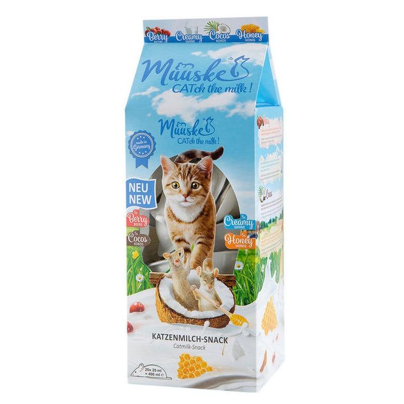 Muuske leche para gatos sabores Madrid mascotas