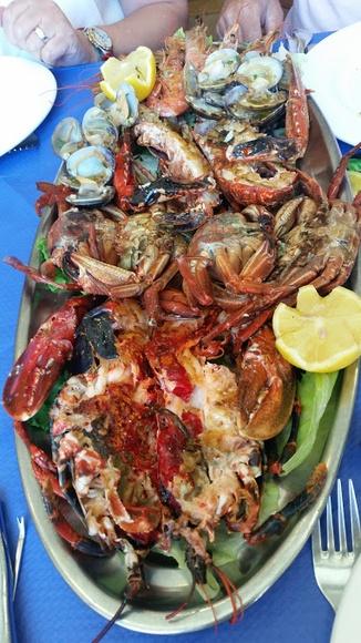 Nuestros mariscos: Carta de Sidrería Restaurante San Bernardo IV
