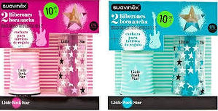 Suavinex BABY ART Biberón Látex 270ML + 360ML + REGALO: Productos de Parafarmacia Centro