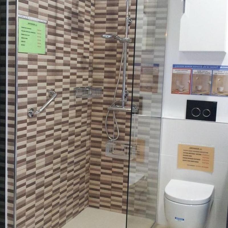 Plato de ducha con mampara - Madrid Centro