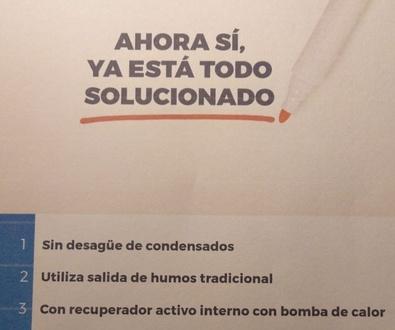 Sustitución de calderas :Caldera Sime Uniqa Revolutiion.