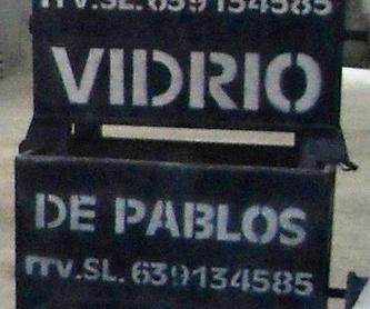 CONTENEDORES VIDRIO 1 M3