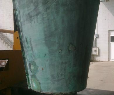 Canalcom investiga sobre la pátina verde natural del cobre