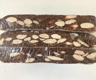 Turrón de chocolate negro con almendras : Turrones y mucho más de Turronerías Sorsant