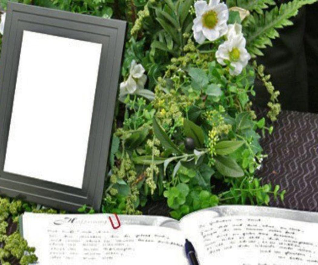 El verde en los arreglos florales funerarios
