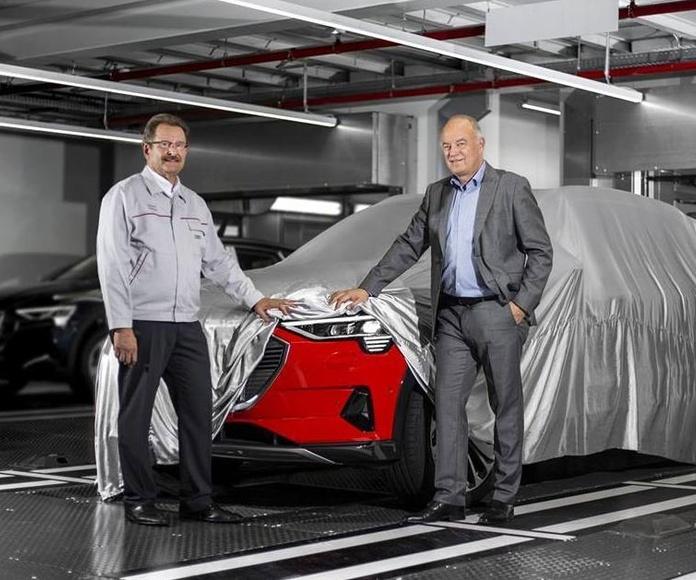 AUDI, primer SUV eléctrico de la marca