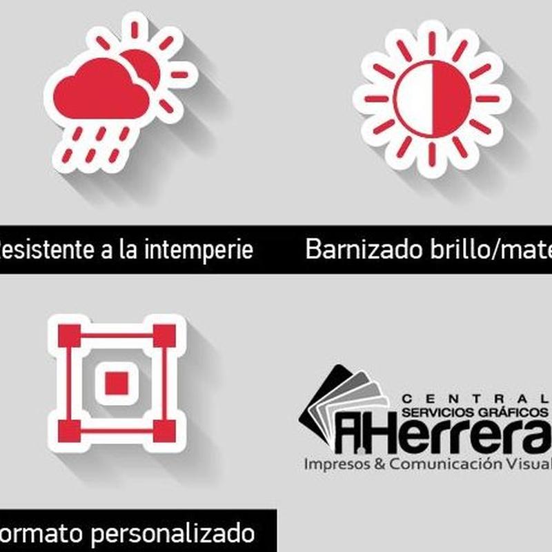 Forex PVC: Catálogo de Servicios Gráficos A.HERRERA