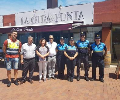 Carrera infantil solidaría del cuerpo de policía local
