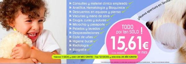 Clinicas veterinarias Sevilla