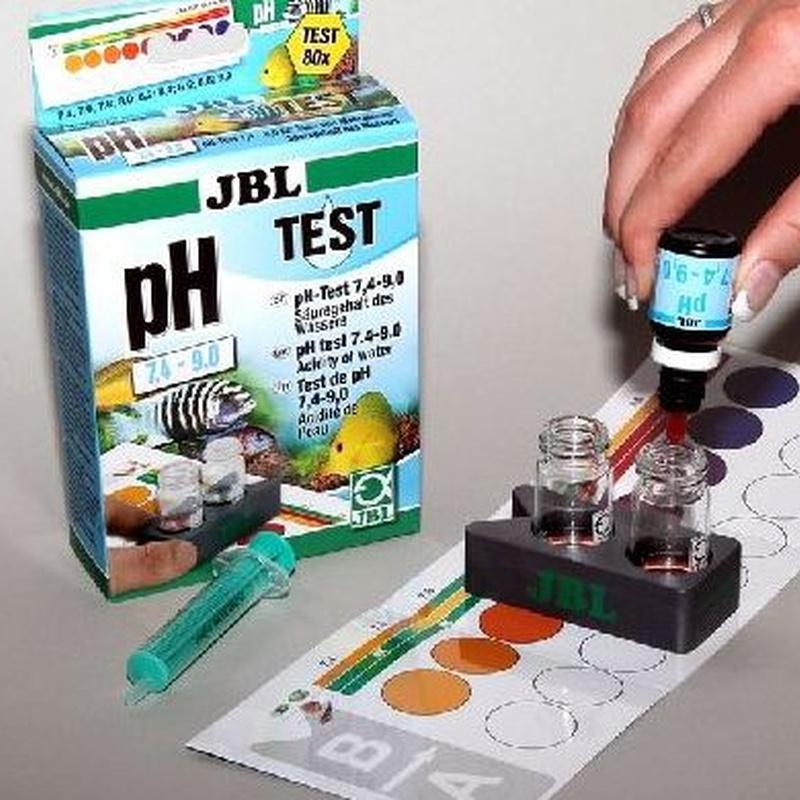 JBL Test PH 7,4-9,0.