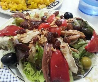 Menú del día completo: Servicios de Hostal Restaurante Carmina