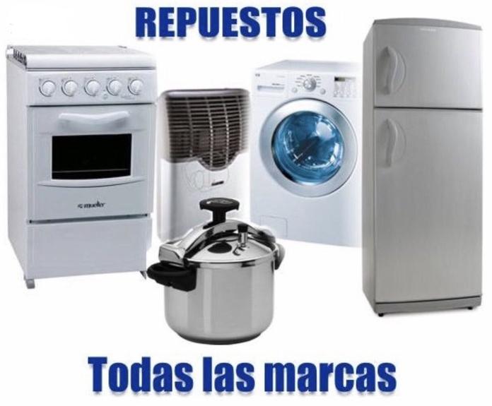 Venta de repuestos  para electrodomésticos en El Barrio del Pilar