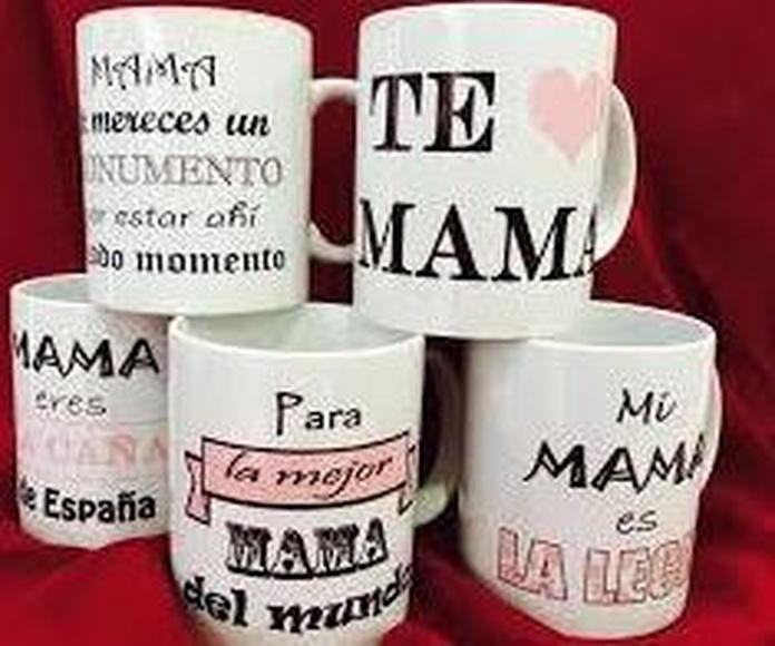 TAZAS Y CAMISETAS PERSONALIZADAS PARA EL DÍA DE LA MADRE