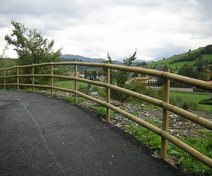Cerramientos de madera: Servicios de Cercados Sarelan