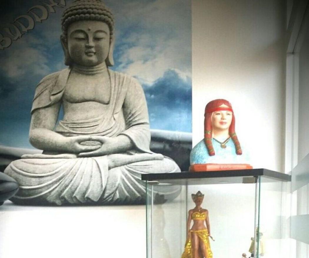 Fuentes e imágenes de Buda para decorar