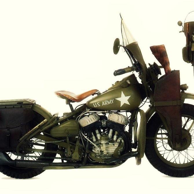 El papel de las Harley-Davidson en la I Guerra Mundial